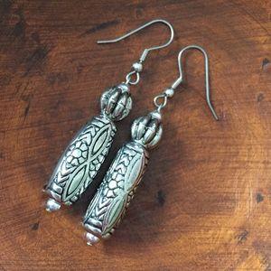 Jewelry - Silver Fancy Dangle Earrings